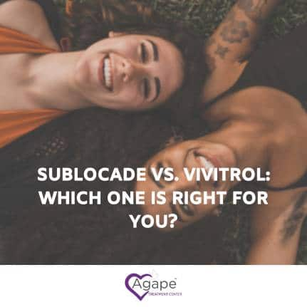 what are sublocade and vivitrol