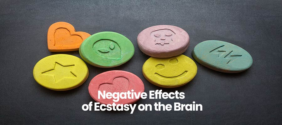 Negative Effects of Ecstasy on the Brain