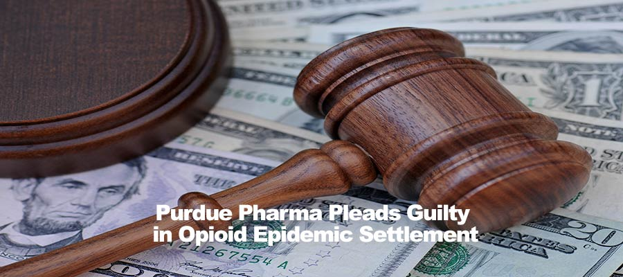 Purdue Pharma Pleads Guilty in Opioid Epidemic Settlement